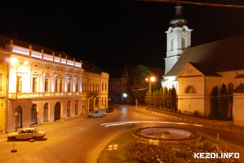 Kézdi City Night Lights