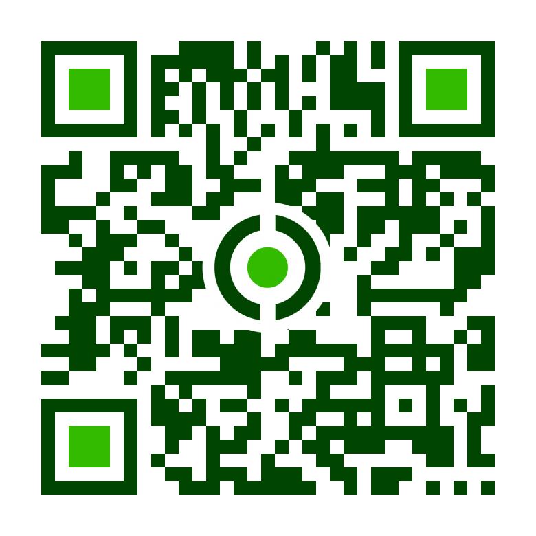 Bóbita Egyesület Mobil QR kódja