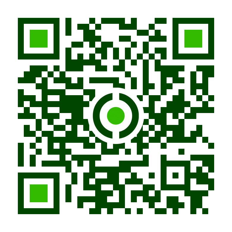 Creativelectric Mobil QR kódja
