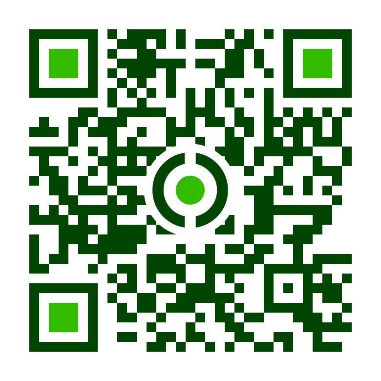 Vinca Minor Egyesület Mobil QR kódja