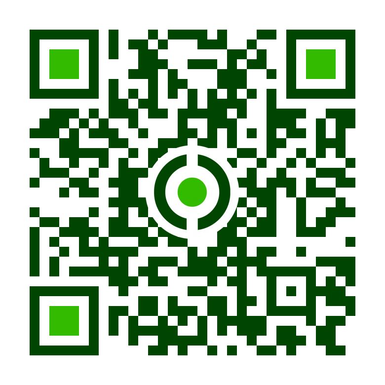 Zöld Nap Egyesület Mobil QR kódja
