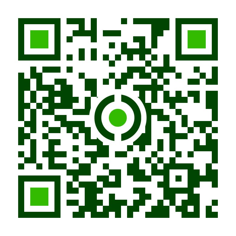 virágkertészet Mobil QR kódja